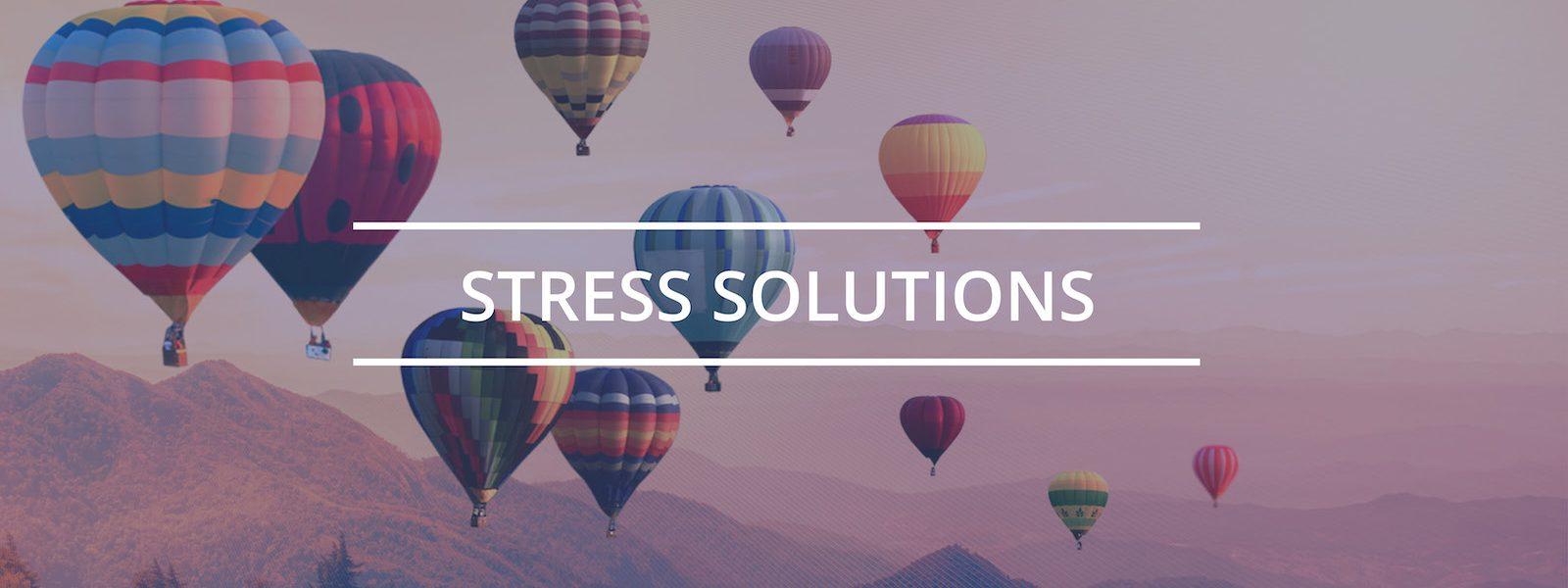 help with stress calmness illness health